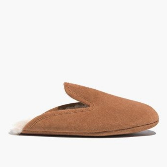 5606328e226f Madewell Suede Snow Cloud Slippers Size 7